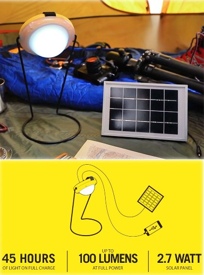 Sun King Pro Portable Solar Charger And Light The Gadgeteer