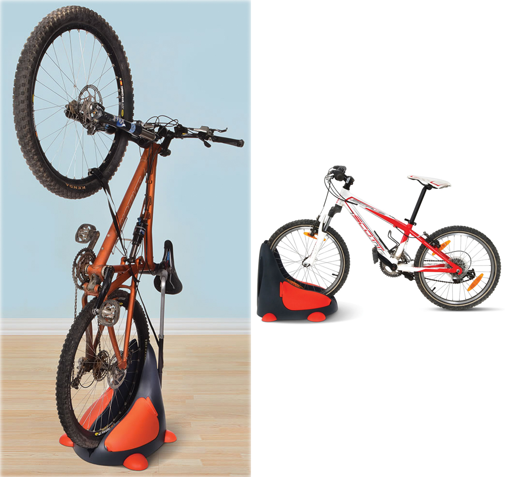 Bikes You Stand On let you store your bike on