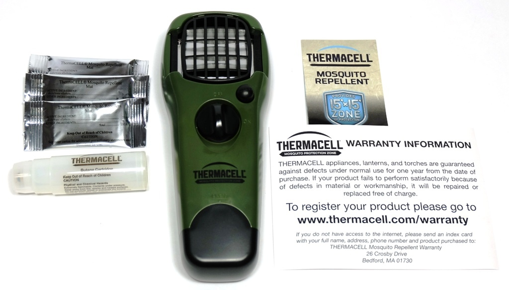 Thermacell Mosquito Repellent review – The Gadgeteer