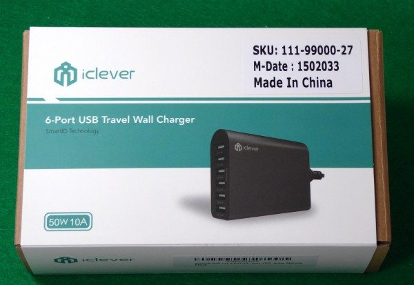 iClever 6 Port USB Travel Wall Charger-2
