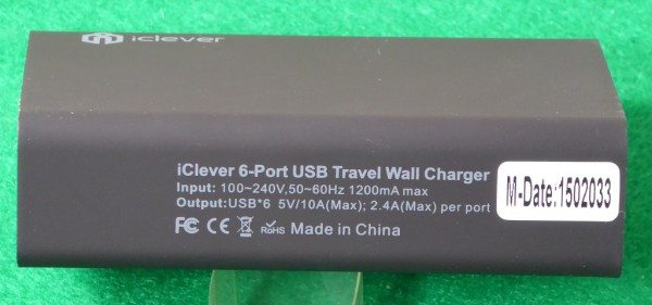 iClever 6 Port USB Travel Wall Charger-6