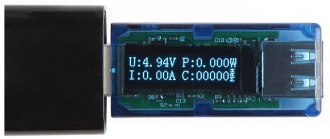 DROK Electrical Multimeter Tester Capacity Voltage Digital Multimeter USB 2.0