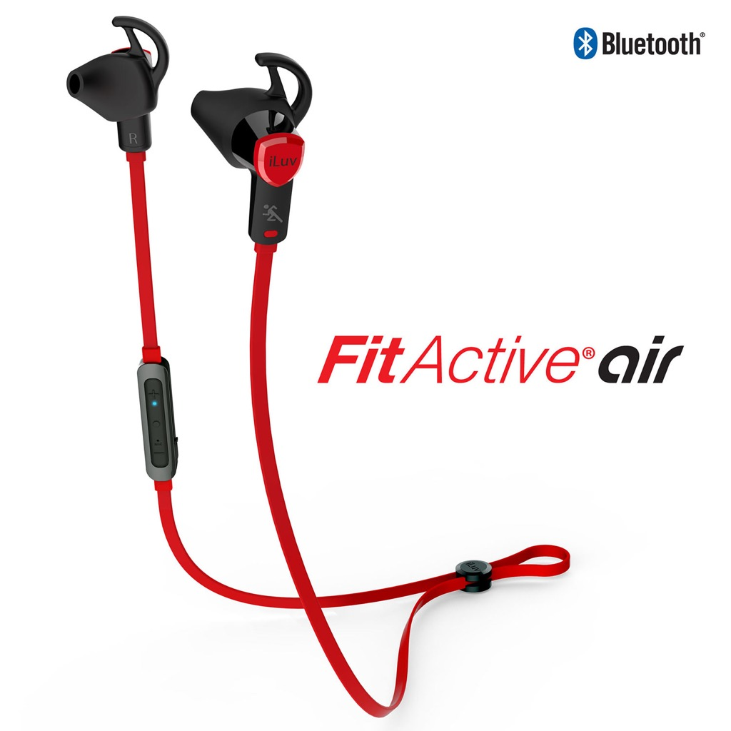 iluv fitactive air bluetooth earbuds review the gadgeteer. Black Bedroom Furniture Sets. Home Design Ideas