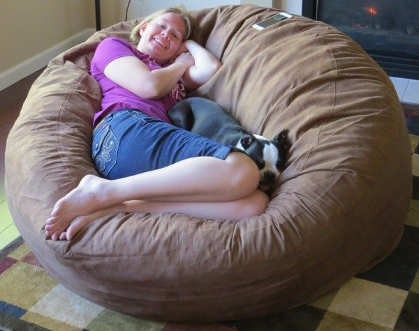 Prime Sumo Sultan Big Bean Bag Chair Review The Gadgeteer Bralicious Painted Fabric Chair Ideas Braliciousco