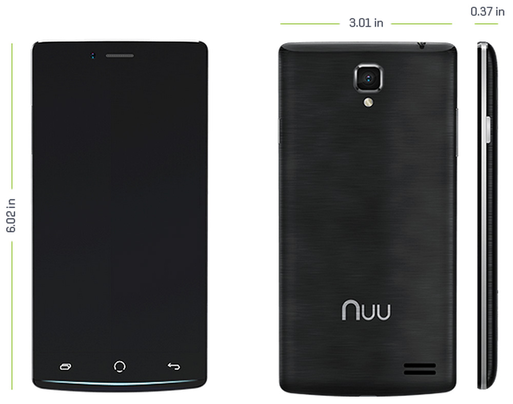 Nuu Mobile Z8 Lte Android Smartphone Review The Gadgeteer