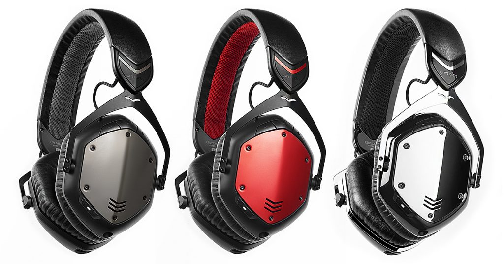 421b220b7fd6fc V-MODA presents the Crossfade Wireless with uncompromised Bluetooth ...