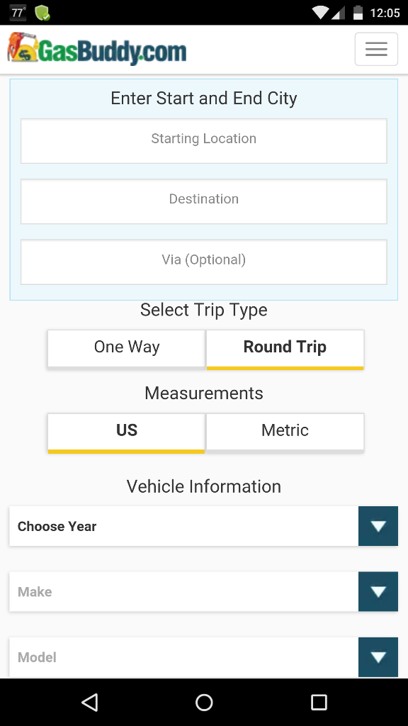 Gas Cost Calculator >> Calculate The Total Gas Cost Of Your Next Road Trip And Save Using
