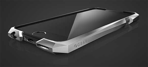 100% authentic c5615 53538 Protect your iPhone 6/6s with the Advent $1500 Titanium bumper case ...
