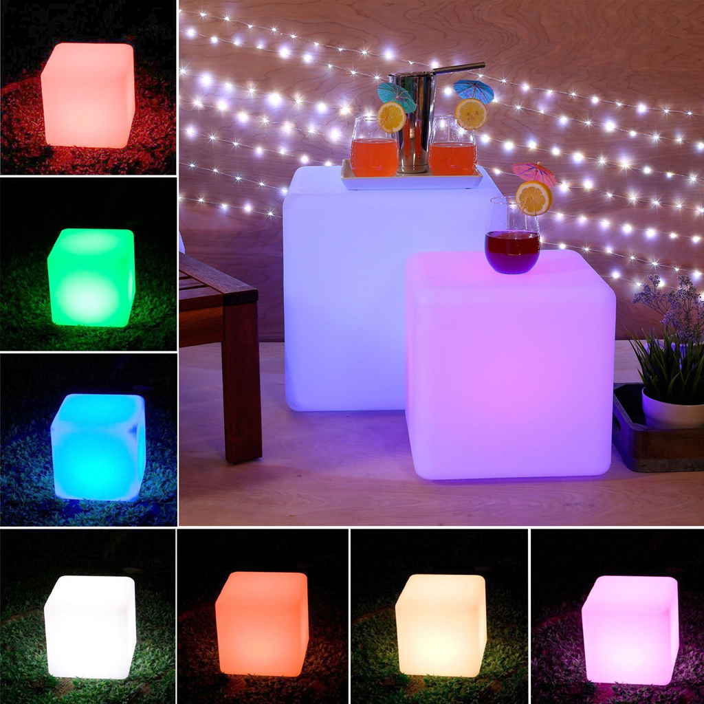 Loftek outdoorindoor rechargeable led light review the gadgeteer loftek rechargable led light cube 1a aloadofball Image collections