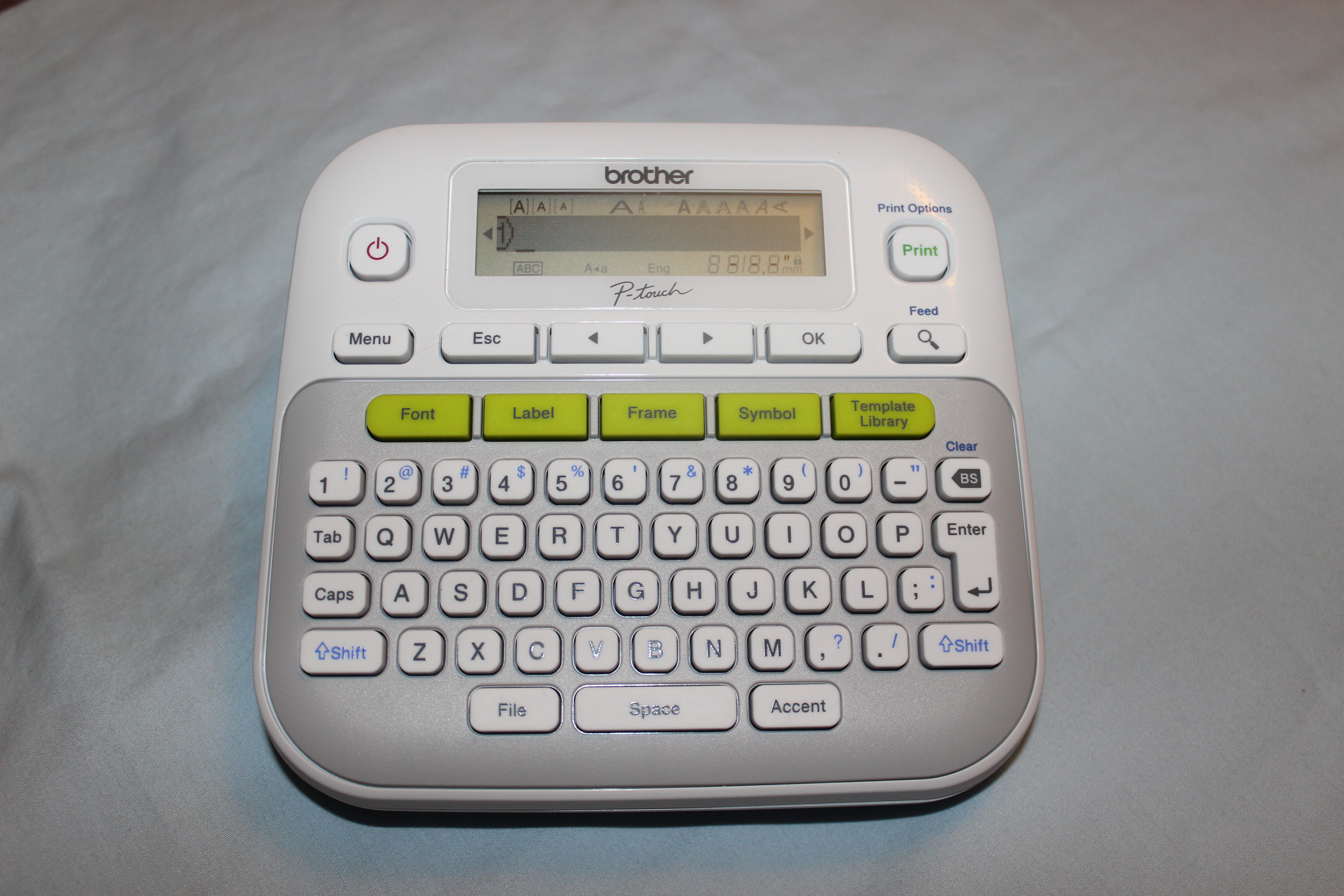 Brother P-Touch PT-D210 label maker review – The Gadgeteer