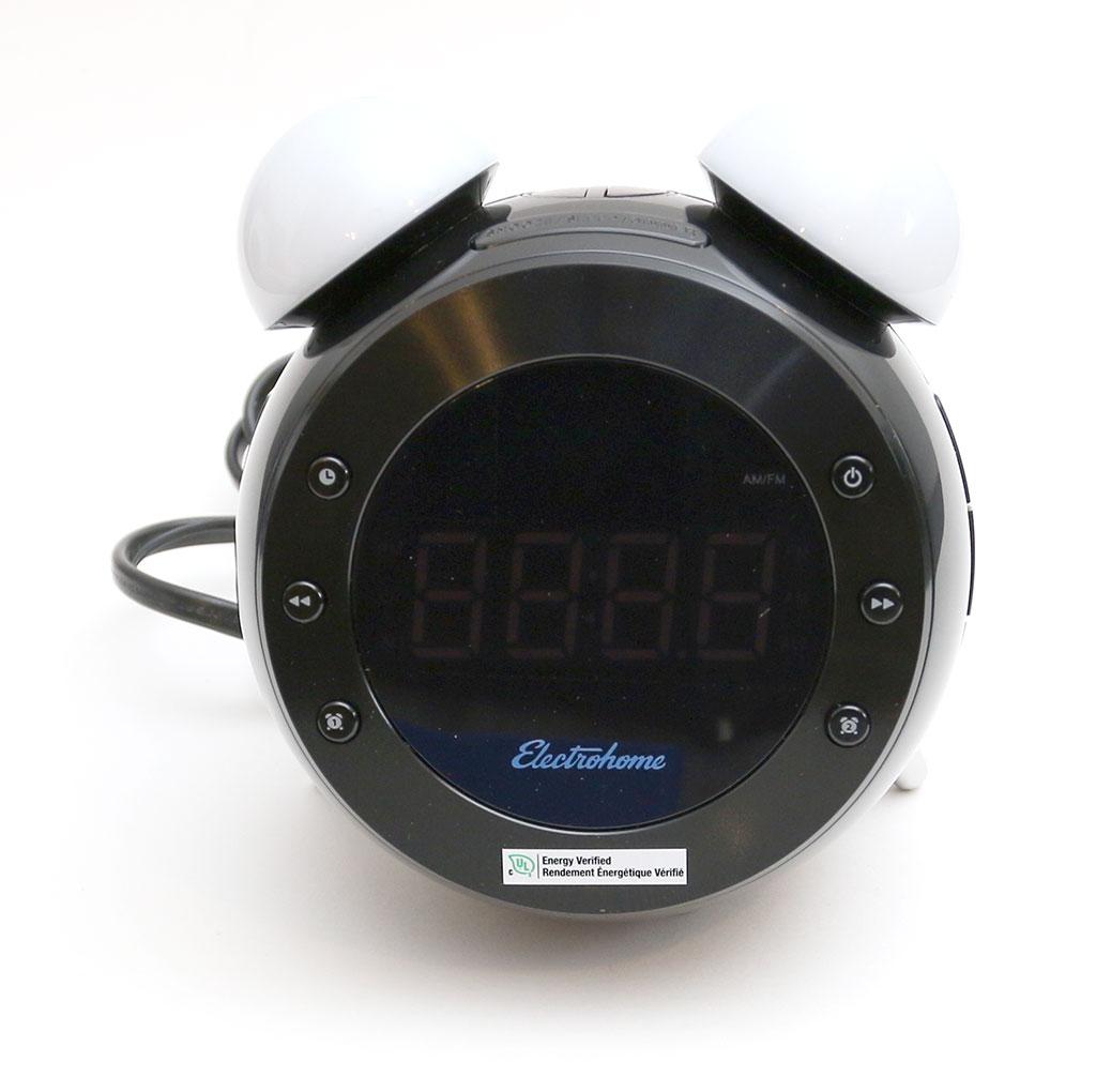 electrohome retro alarm clock radio review the gadgeteer. Black Bedroom Furniture Sets. Home Design Ideas