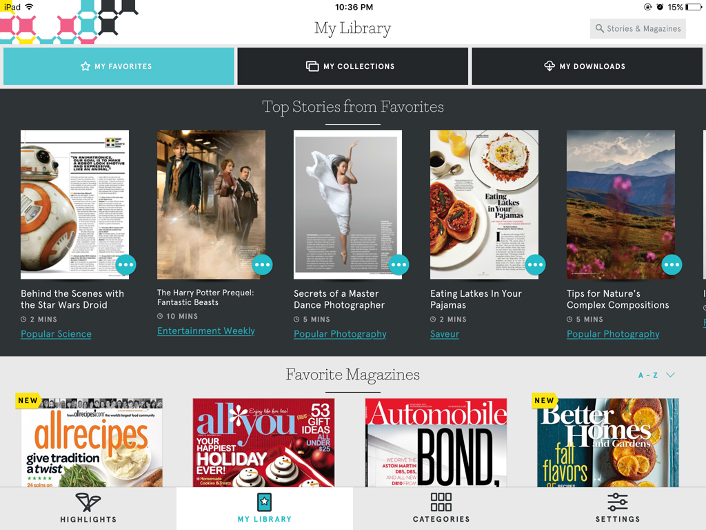 how to cancel texture magazine from an ipaq ios app