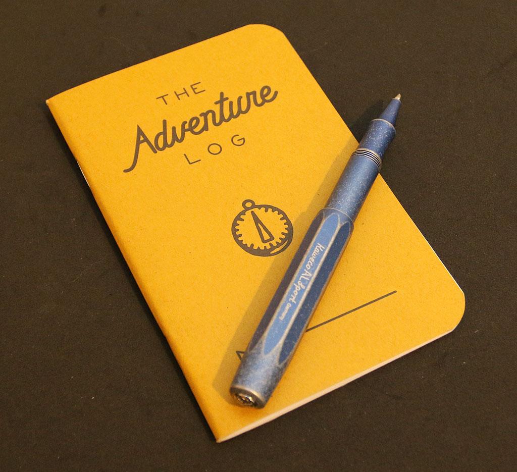 Word Notebooks Adventure Log review – The Gadgeteer