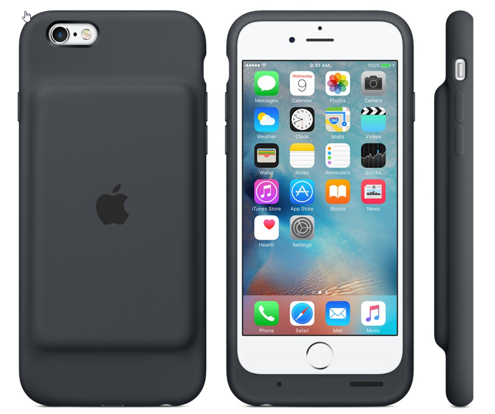 iphone 6 rechargeable phone case