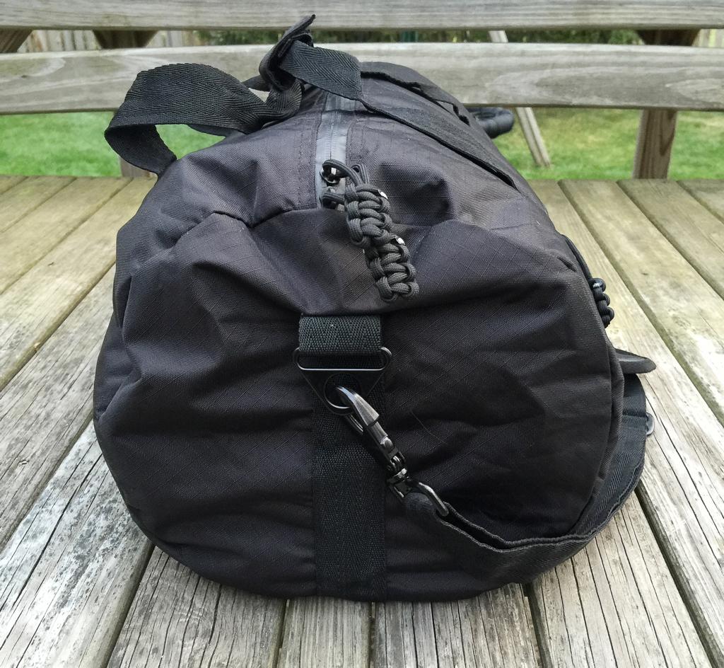 bomber barrel duffel bag mini travel kit and firestarter