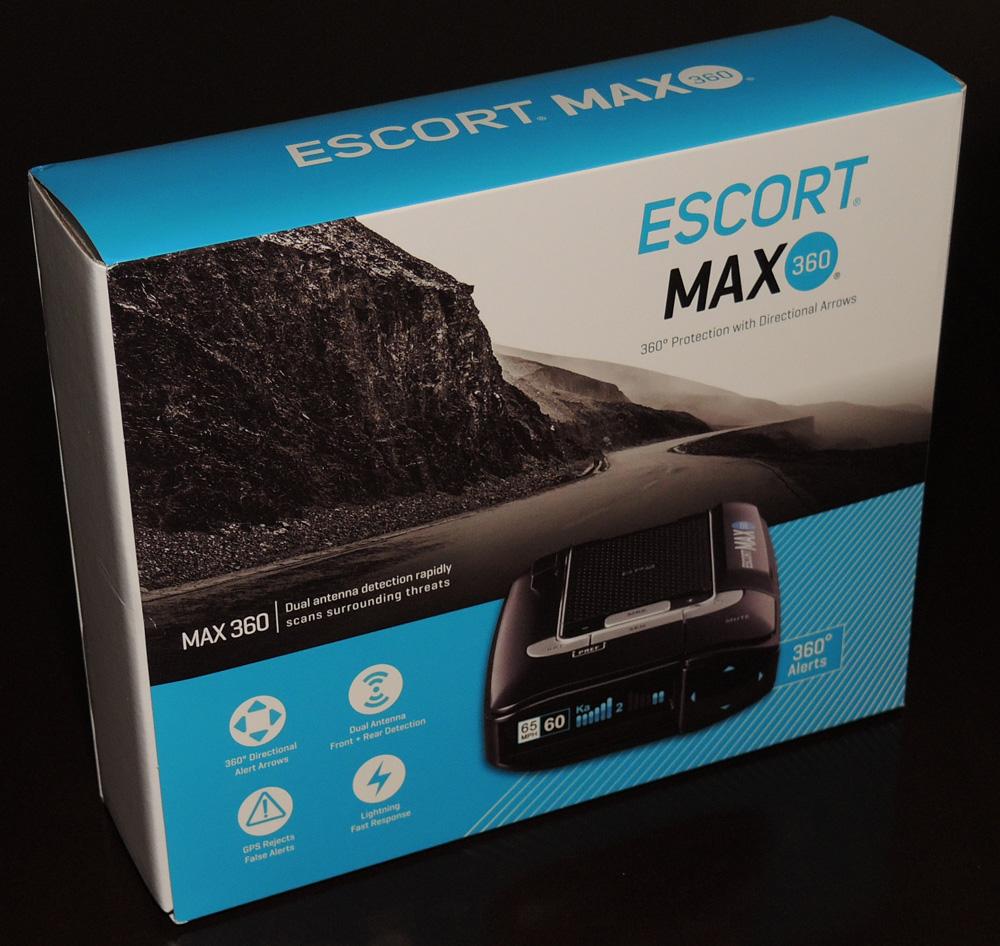 Escort Radar Max 360 >> Escort Max 360 Radar Laser Detector Review The Gadgeteer