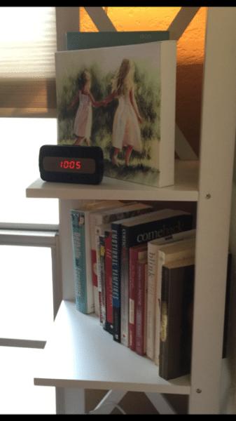 clockshelf