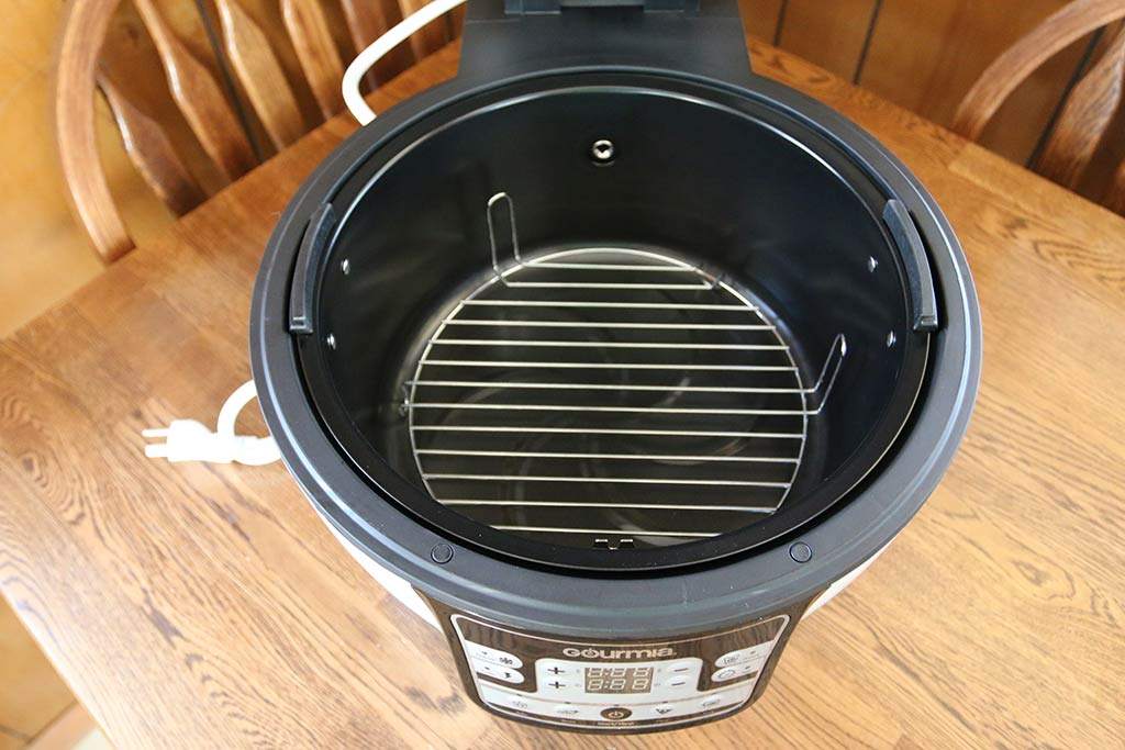 Gourmia Gta2500 Electric Digital Air Fryer Griller And