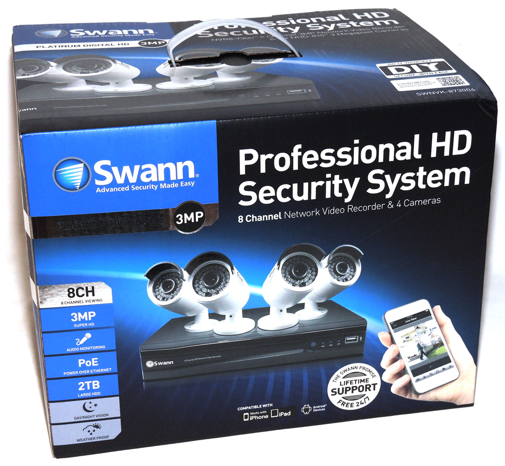 Swann SWNVK-873004 Profesional HD Security System review – The Gadgeteer