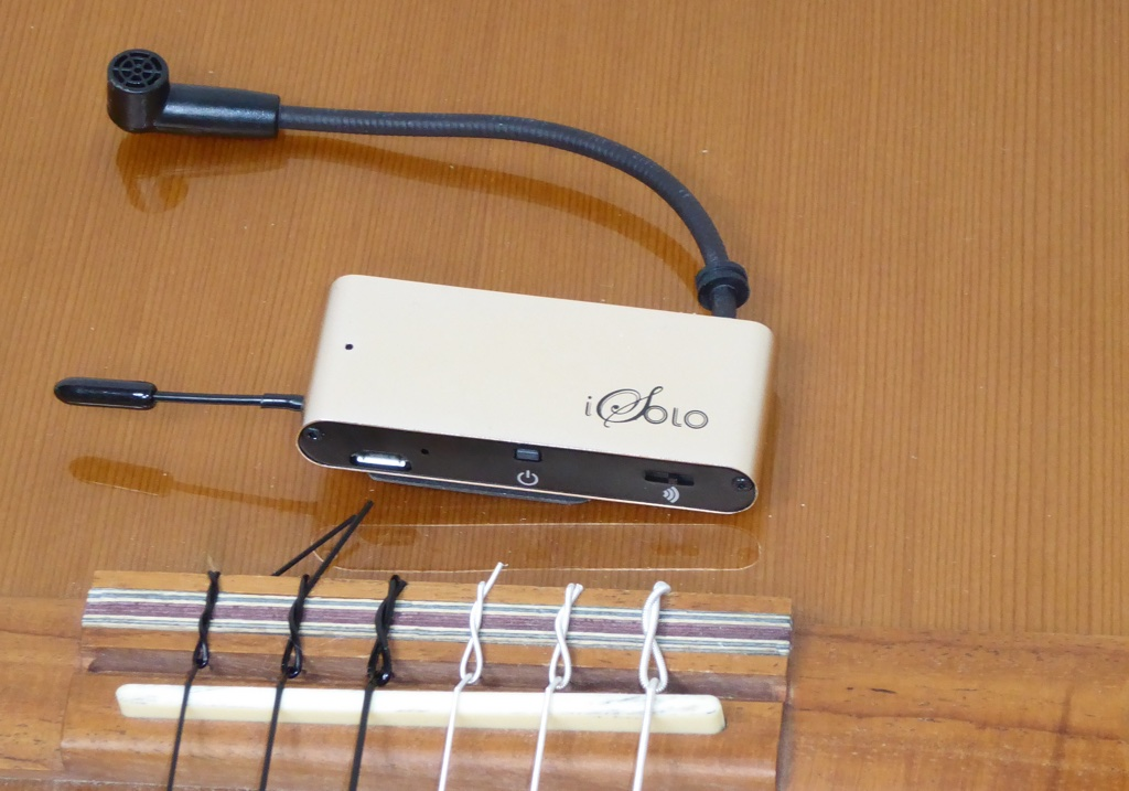 isolo wireless acoustic pickup review the gadgeteer. Black Bedroom Furniture Sets. Home Design Ideas