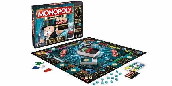 monopoly ultimate banking edition gameboard