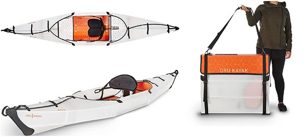 Summer is on the way, unfold the Oru Kayak! – The Gadgeteer