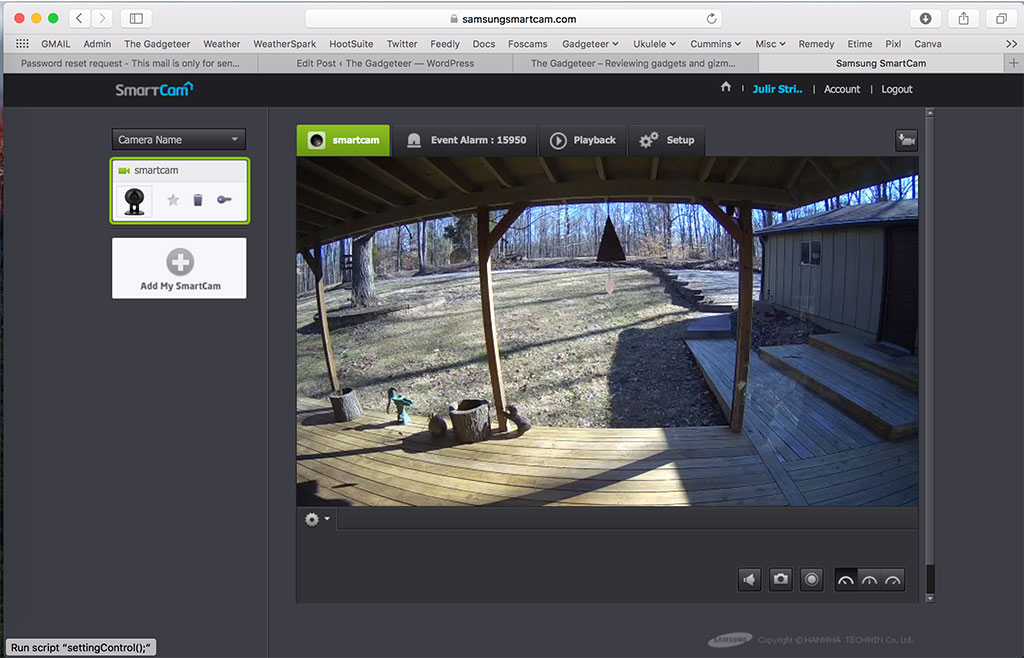 samsung smartcam app for pc
