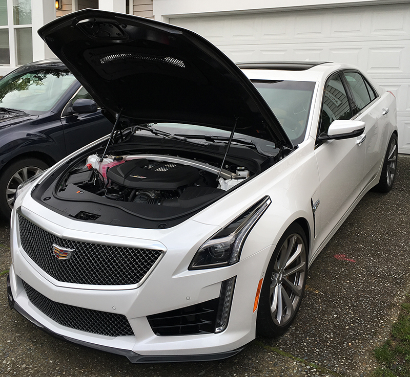 Review 2016 Cadillac Cts V: Test Driving The 2016 Cadillac CTS-V