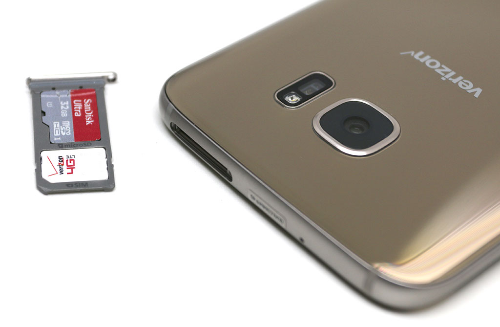 probleme sd card samsing s7 edge