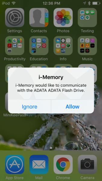 adata imemory flash drive ue710 8