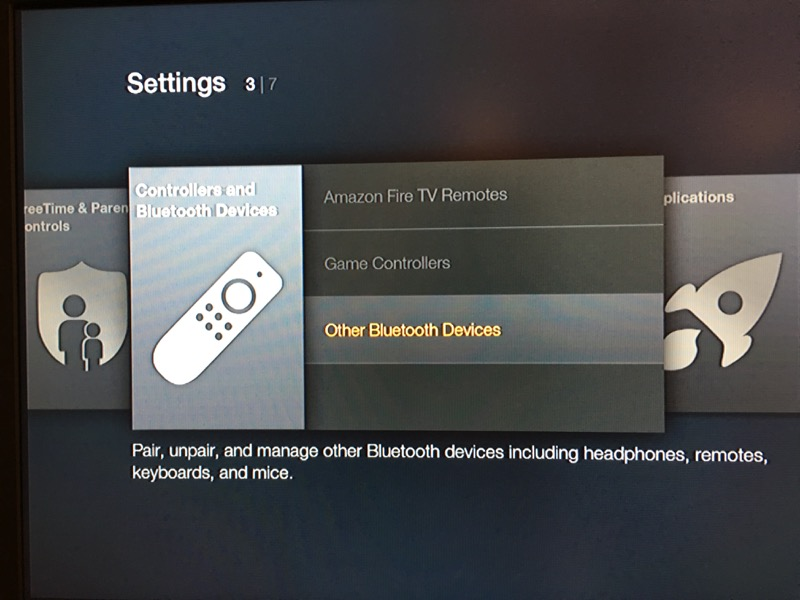 116097c6f883ee ... Fire TV remote mated together. ipazzport bluetooth keyboard amazon-20