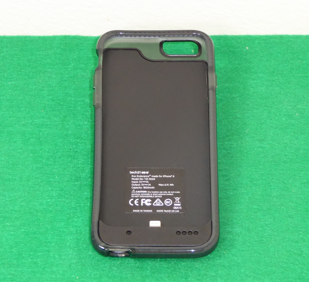 buy popular 5a697 8b27c tech21 EVO Endurance battery case for iPhone review – The Gadgeteer