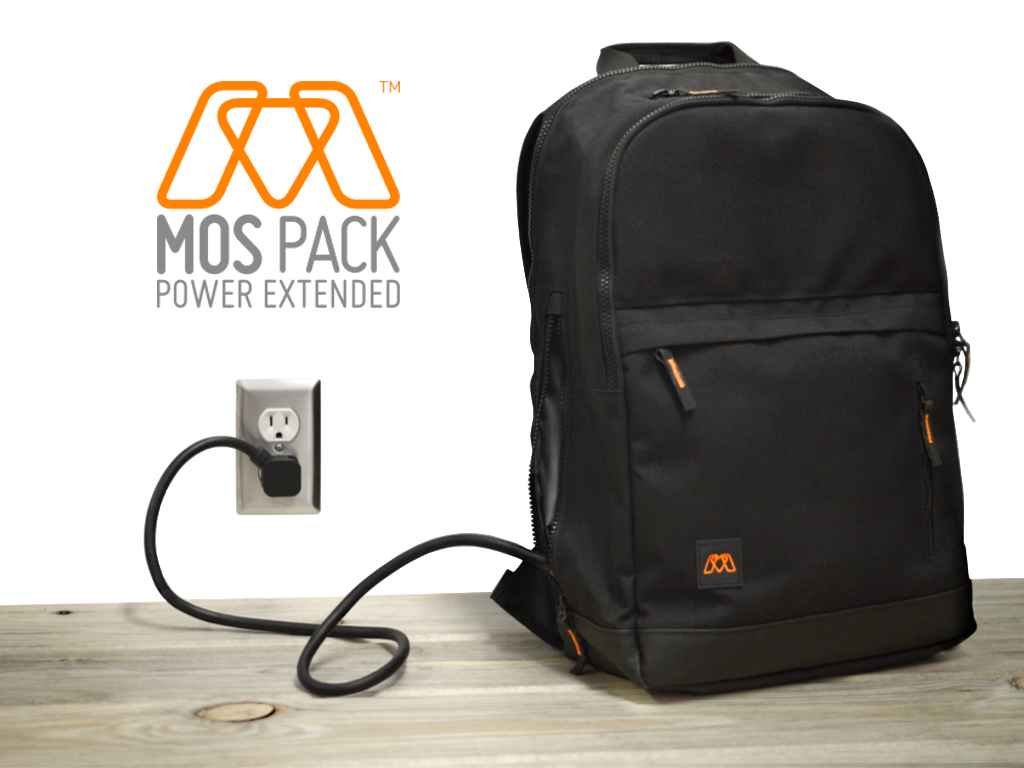 Mos Pack Charging Backpack Review
