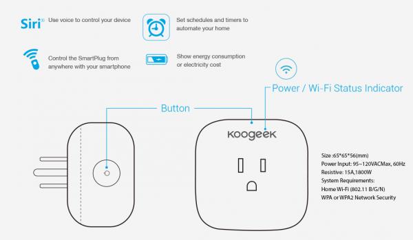Koogeek Smartplug 1