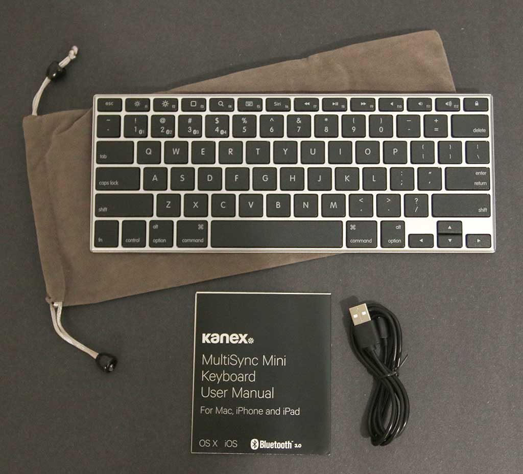 Kanex Multisync Mini Bluetooth Keyboard review – The Gadgeteer