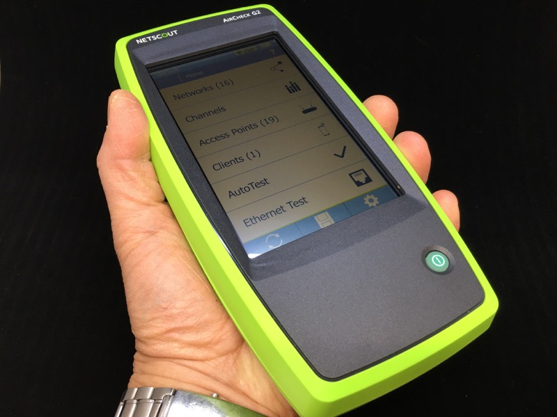 Netscout Aircheck G2 Wireless Tester Review The Gadgeteer