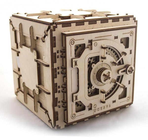 UGEARS are self-propelled wooden mechanical model kits that
