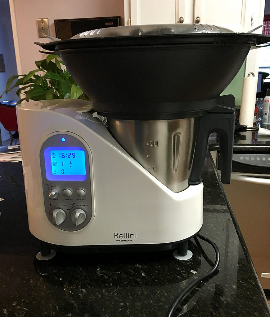 Uncategorized Bellini Kitchen Appliances bellini kitchen master review i put snow peas and bias sliced carrots in the steamer basket recipe booklet calls for 4 cups of cold water then cooking