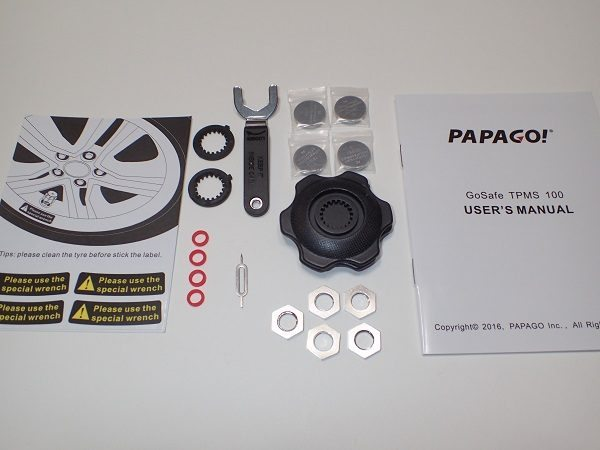 Papago Gosafe Tpms100 Tire Pressure Monitoring System