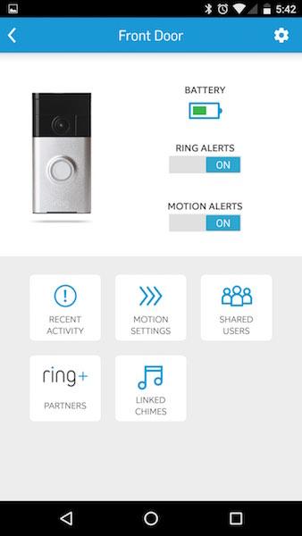 Ring Doorbell Operating Temperatures