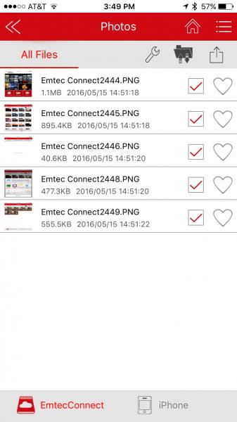 11 Select Emtec Connect2598