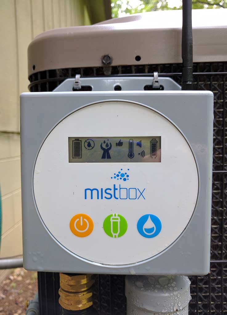 Misting Systems For Ac Units : Mistbox review the gadgeteer