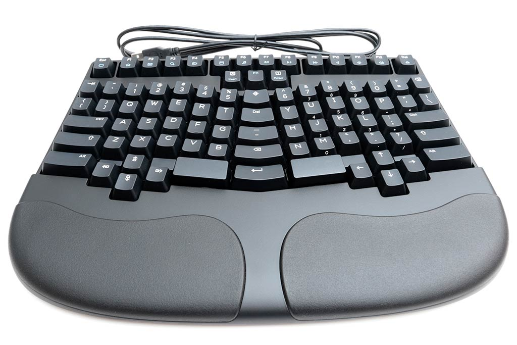 Truly Ergonomic keyboard (TEK) model 227 review - The Gadgeteer