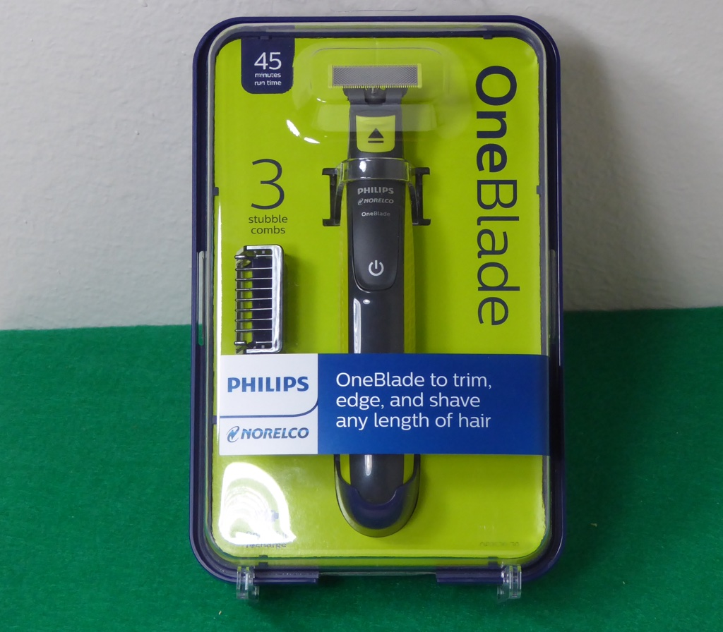 philips norelco oneblade electric trimmer and shaver. Black Bedroom Furniture Sets. Home Design Ideas