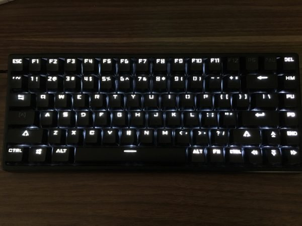 drevo gramr 84 key backlit mechanical keyboard review the gadgeteer
