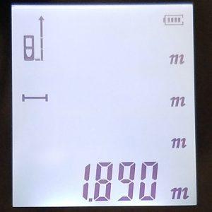 Meters to three decimal places