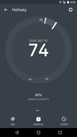 Nest Thermostat Review The Gadgeteer