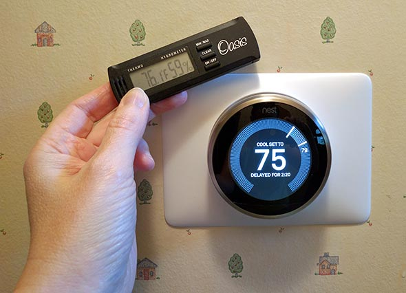 nest thermostat 8