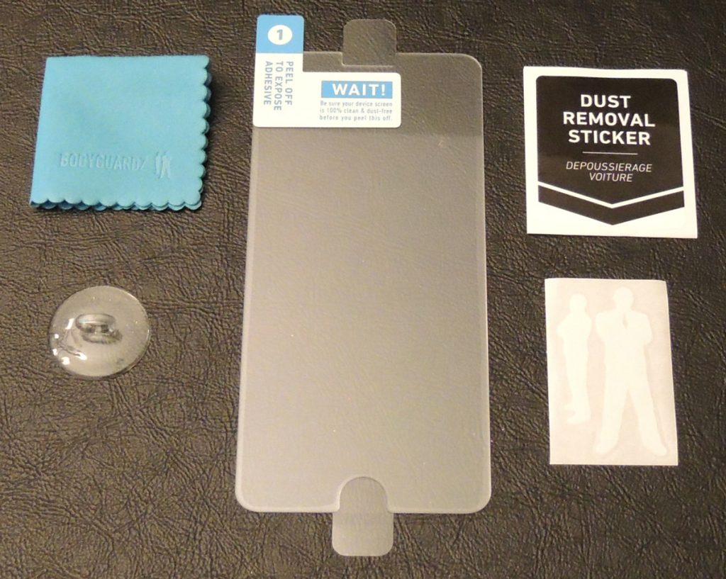 b87355c7f9d34d bodyguardz_pure2-contents. Package Contents: Premium Pure 2 tempered glass  screen protector ...