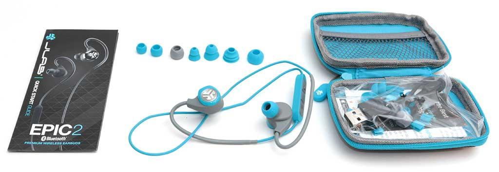 jlab epic2 bluetooth wireless sport earbuds review. Black Bedroom Furniture Sets. Home Design Ideas